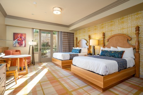 The Agrarian Hotel: 2 Double Beds